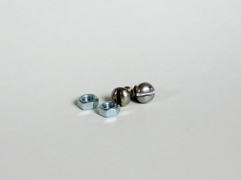 Stainless nuts and screws